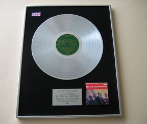 CLIFF RICHARD & THE SHADOWS - ME And My Shadows PLATINUM LP PRESENTATION Disc